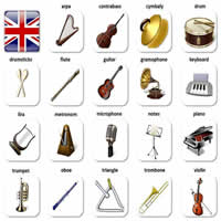 Music Instruments Vocabulary-200