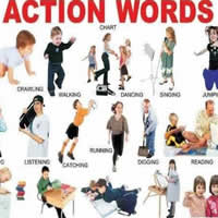 action words in english-200
