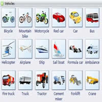 vocabulary vehicles-200