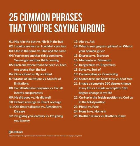 25-common-phrases-that-youre-saying-wrong