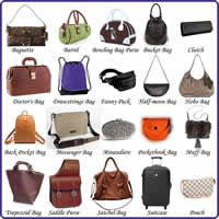 Bag Vocabulary in English-200