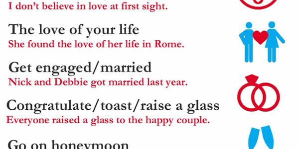 collocations-about-love-and-marriage