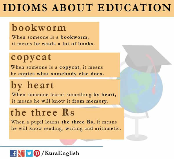 idioms-about-education