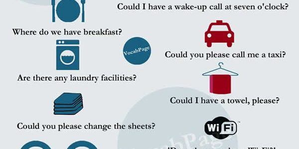 Phrases to Use at a Hotel