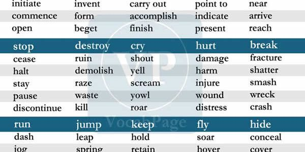 synonyms-for-the-most-used-verbs