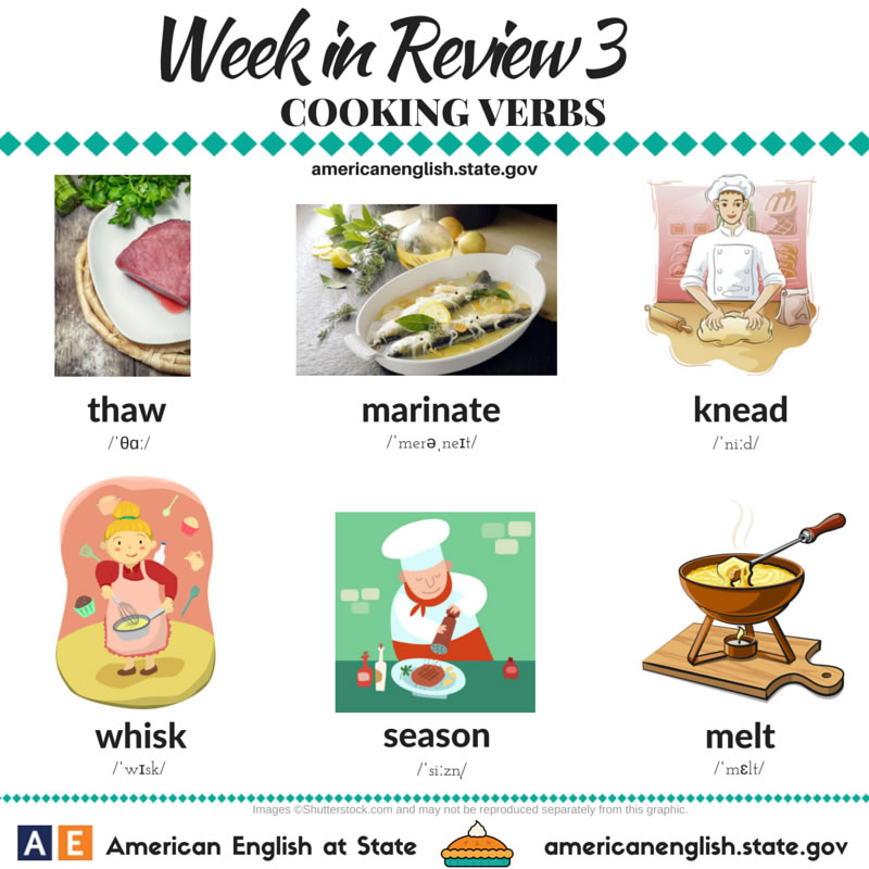 Cooking Verbs – 2
