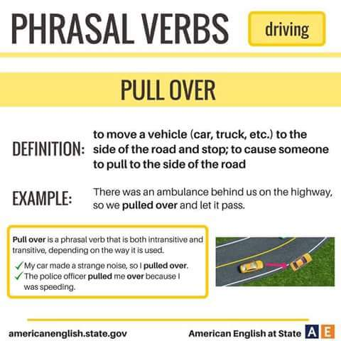 Phrasal Verbs Related To Driving Vocabulary Home