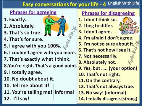 phrases-for-agreeing-and-disagreeing