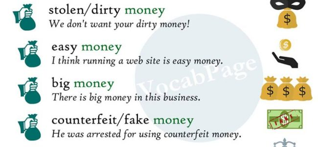 adjective-money-collocations