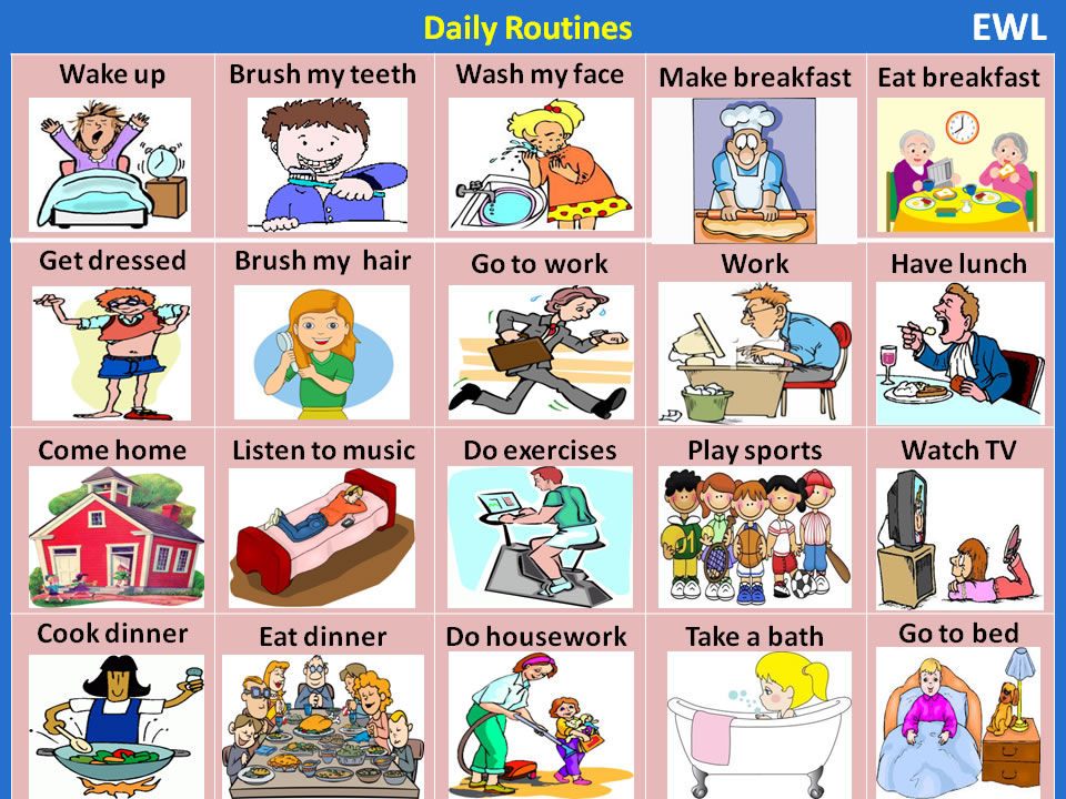 my life and my daily routine My daily routine essay creating a daily routine can help you to make a real change in your life, reduce the amount of stress, and more people are creatures of habit, and routines offer a way to promote health and wellness through structure and organization.