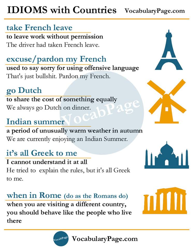 idioms-with-countries