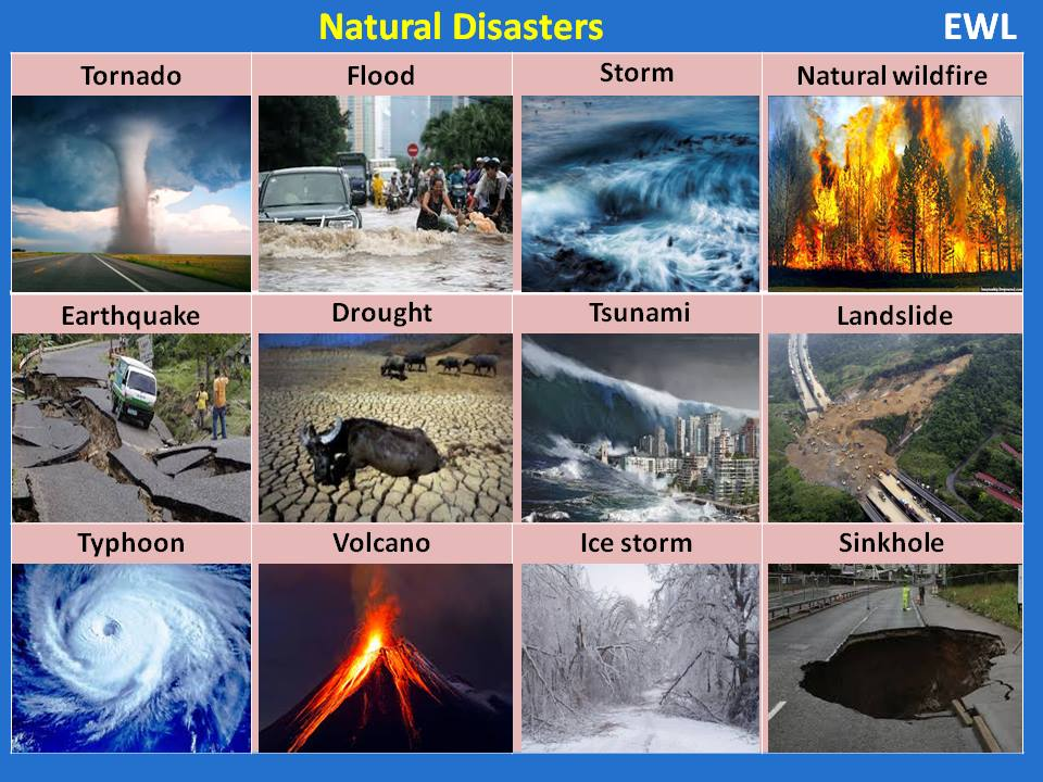 Synonym Natural Disaster