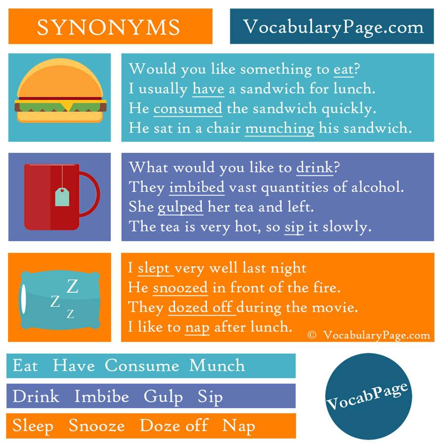 synonyms-for-eat-drink-and-sleep