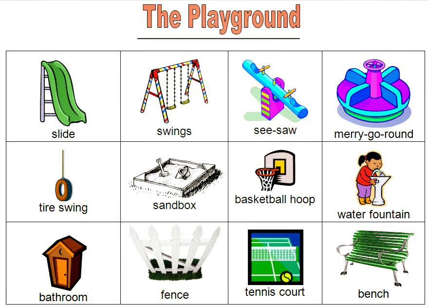 Vocabulary The Playground Vocabulary Home
