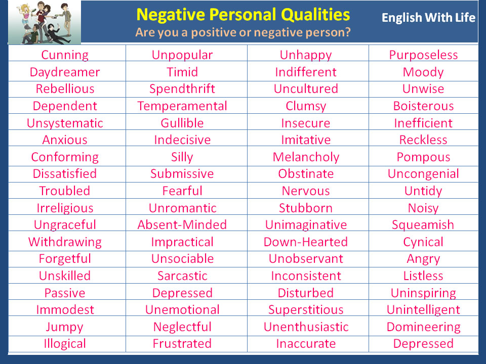negative-personal-qualities