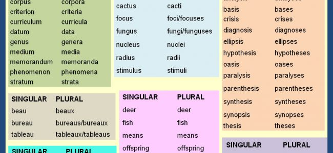 unusual-plurals-list