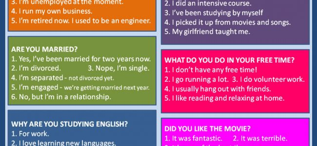 Common English Questions-1