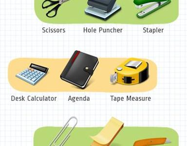 Office Supply Vocabulary