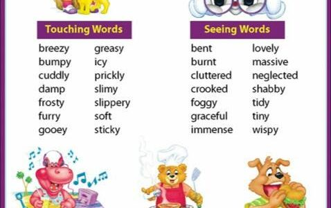 Using Sensory Words